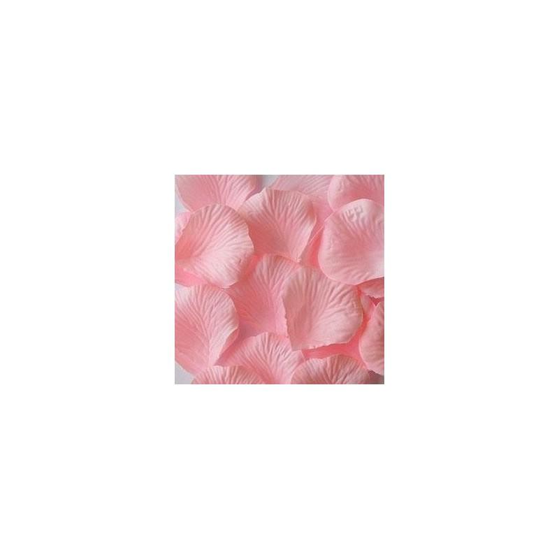 acheter 100 p tales de rose artificielle rose p le sur hello pompon. Black Bedroom Furniture Sets. Home Design Ideas