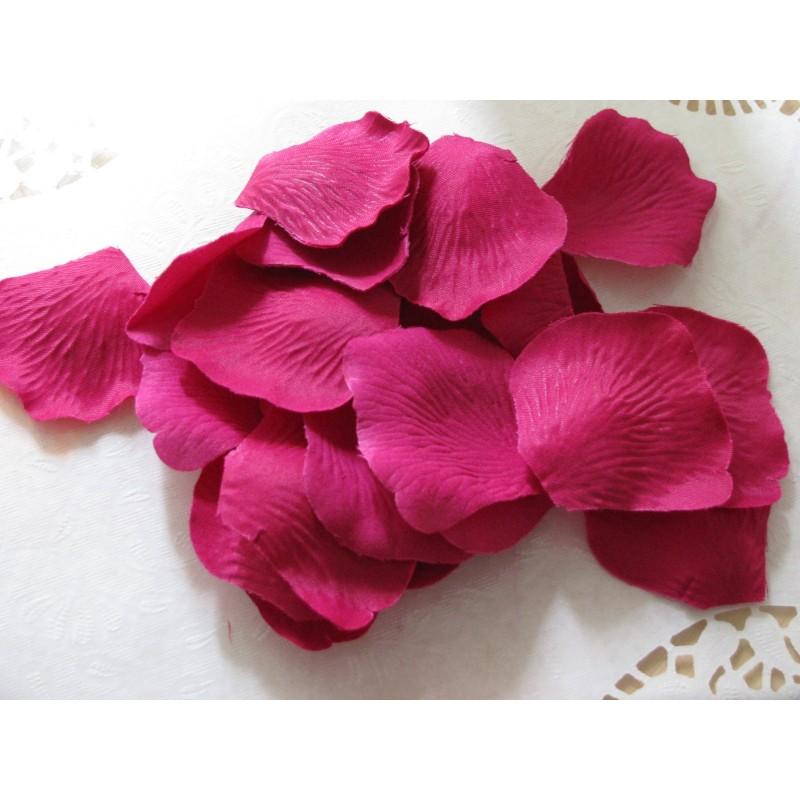 acheter 100 p tales de rose artificielle rose fushia sur hello pompon. Black Bedroom Furniture Sets. Home Design Ideas