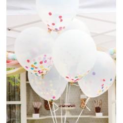 ballon transparent taille 30 cm