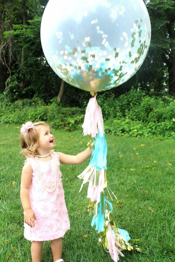 ballon tassel anniversaire