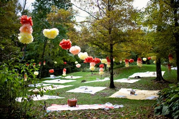 jardin de pompons mariage
