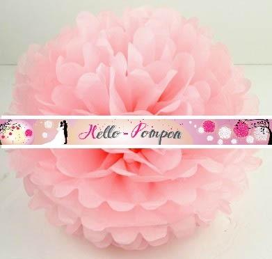 pompon rose doux