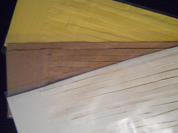 tassel ivoire beige jaune