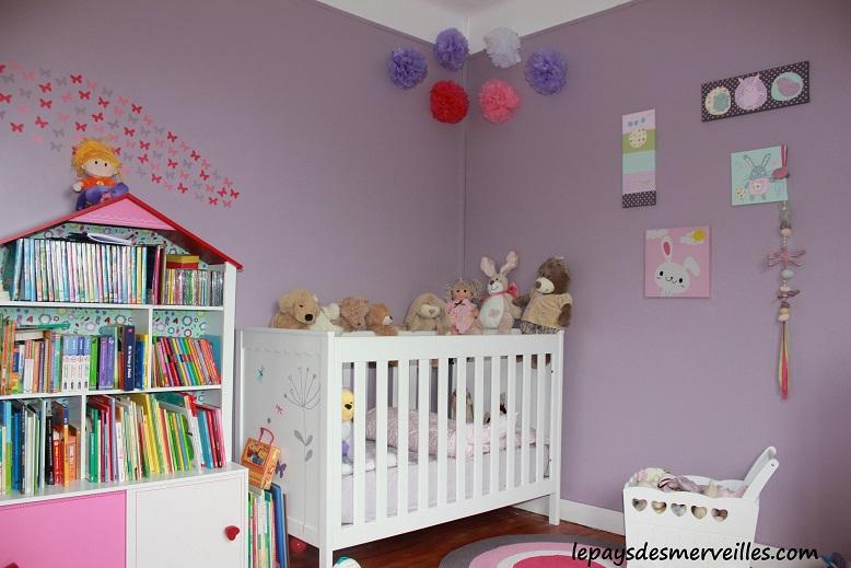 D coration chambre enfant 04 hello pompon le maghello - Decoration chambre fillette ...