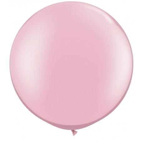 ballon rose doux 90 cm