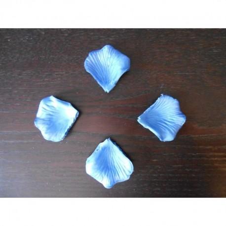 pétale de rose bleu