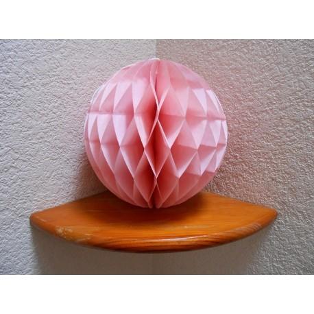 acheter boule papier alv ol e rose doux 25 cm sur hello pompon. Black Bedroom Furniture Sets. Home Design Ideas