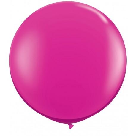 Ballon géant rose fuschia 90 cm