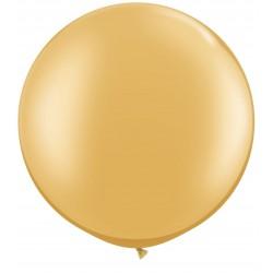 Ballon géant or 90 cm