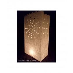 Lanterne en papier coeur