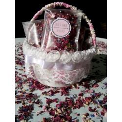 Confetti fleurs séchées julie