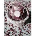 Confetti fleurs séchées modèle Initiale