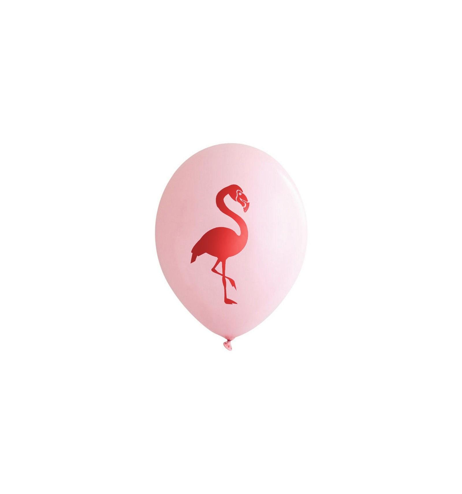 acheter ballon flamant rose sur hello pompon. Black Bedroom Furniture Sets. Home Design Ideas