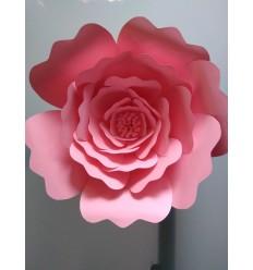 Fleur géante en papier Aurélie