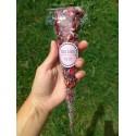 24 cônes confettis fleurs séchées
