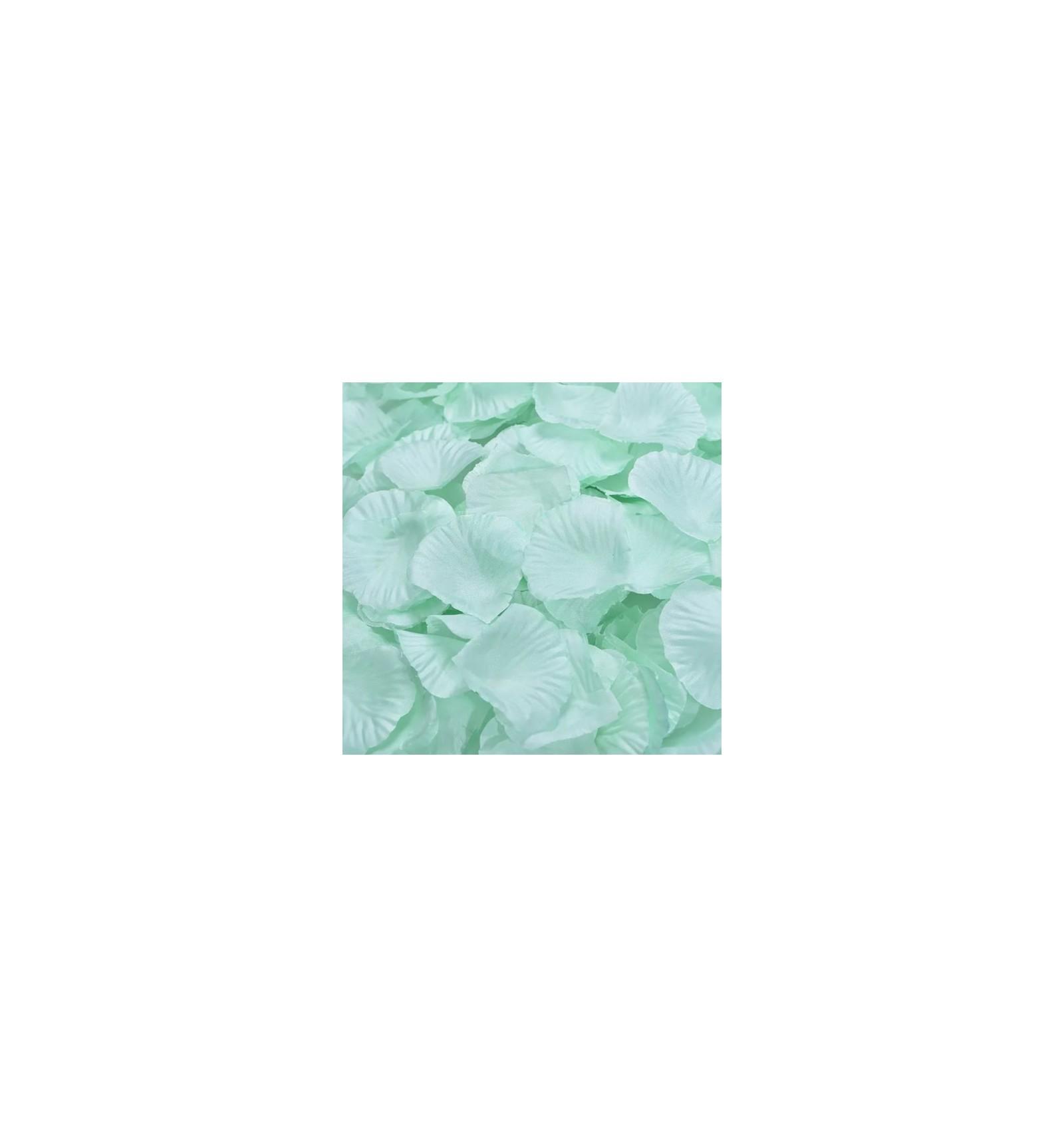 acheter 100 p tales de rose artificielle vert menthe doux hello pompon. Black Bedroom Furniture Sets. Home Design Ideas