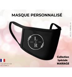 Masque de protection personnalisé mariage