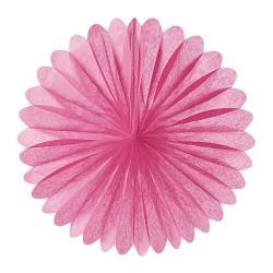 Rosace rose 25 cm