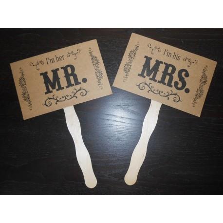 pancarte mr mrs