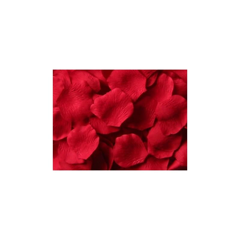 acheter 100 p tales de rose artificielle rouge sur hello pompon. Black Bedroom Furniture Sets. Home Design Ideas