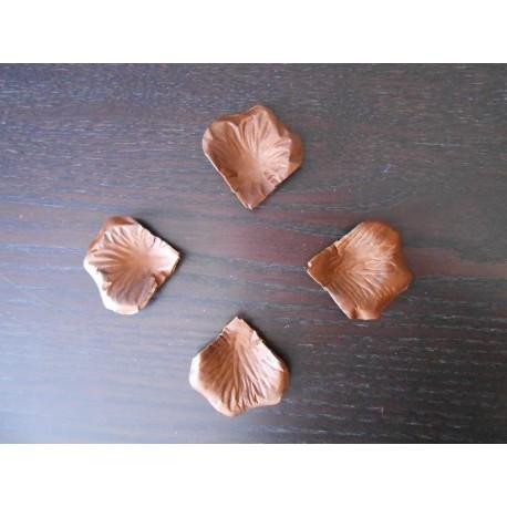 petale de rose marron chocolat