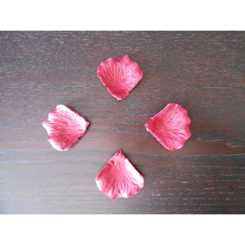 acheter 100 p tales de rose artificielle rouge fonc sur hello pompon. Black Bedroom Furniture Sets. Home Design Ideas