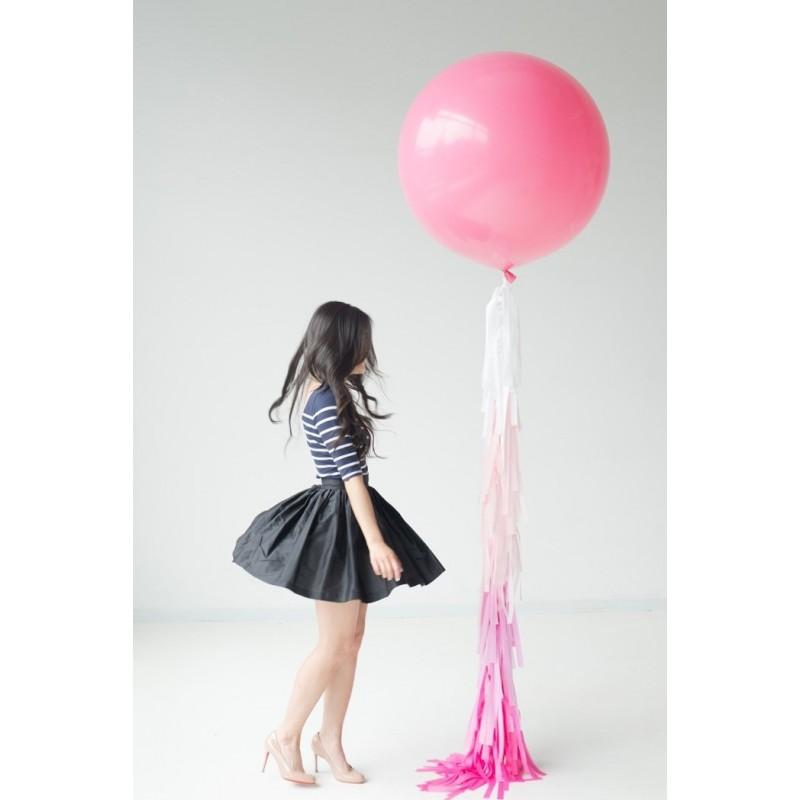 acheter ballon g ant rose doux 90 cm sur hello pompon. Black Bedroom Furniture Sets. Home Design Ideas