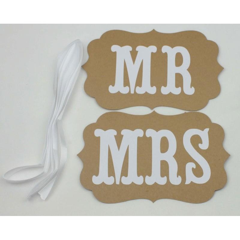 Gut gemocht Acheter Pancartes photobooth Mr & Mrs la demande en mariage sur  EP94