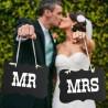 pancarte mariage mr mme