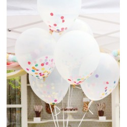 ballon transparent taille 30 cm