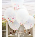 Ballon transparent 30 cm