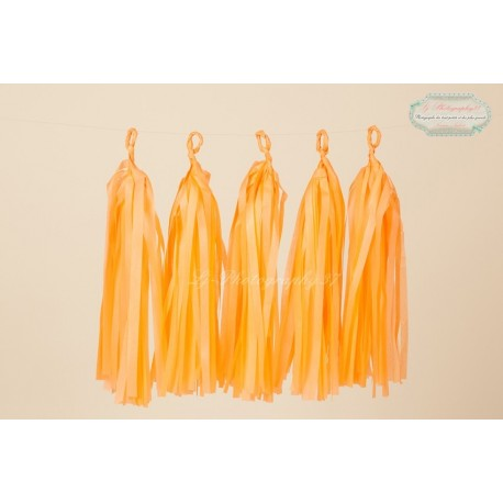 guirlande tassel orange